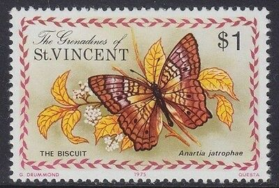 Grenadine Of St. Vincent 1975 - Farfalle - Butterfly - $ 1 - Mnh