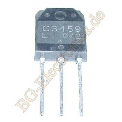 5pcs 2sc2911  160V//140mA High-Voltage Switching /& AF 100W Predriver  to126 sanyo