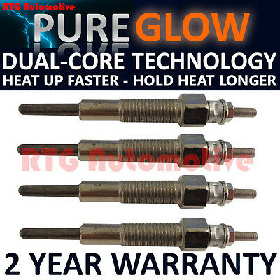 4X For Ford Ranger Freeda 2.5 D Td Diesel Heater Glow Plugs Gp70101