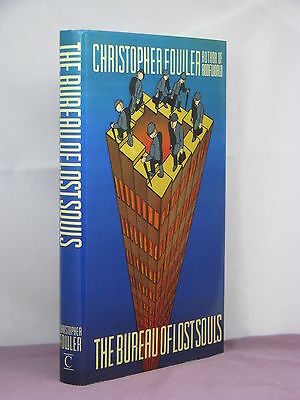 1st, signed by the author, Bureau of Lost Souls by Christopher Fowler (1989)