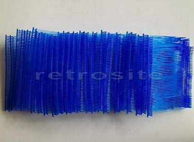 "500 BLUE Price Tags REGULAR Tagging Gun 3"" Inch Barbs Fasteners"