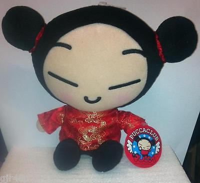 PUCCA FUNNY LOVE 11 Inch Plush Japanese Anime Soft Toy Genuine PUCCA CLUB New UK