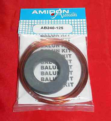 1KW Antenna Balun Kit  (AB_240_125)