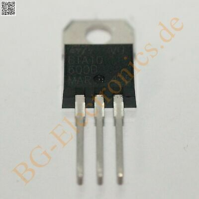 2 x BTA10-600B TRIAC BTA10600B STM TO-220 2pcs