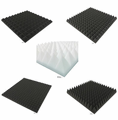 ° Acoustic Soundproofing convoluted Foam protection made in germany high quality