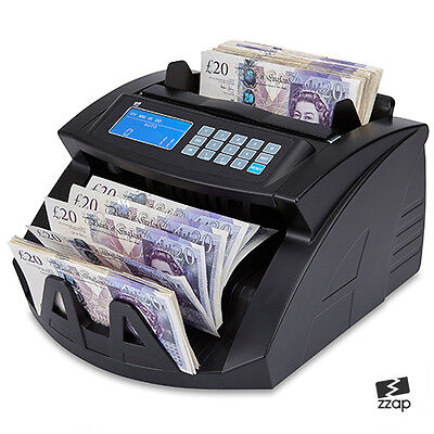 Bank Note Banknote Money Currency Counter Count Fake Detector Pound Cash Machine
