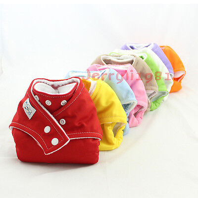 Lot Adjustable Baby Washable Cloth Diaper Nappy nappies Covers Re-Usable new