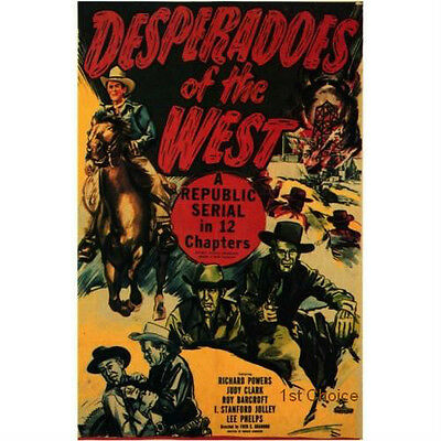 Desperadoes of the West - Classic Cliffhanger Movie Serial DVD Richard Powers