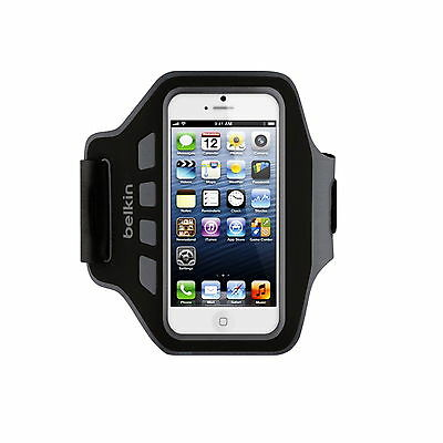 Belkin Armband For Iphone Se 5 5C 5S Easefit Velcro Adjustable Black F8W105Qec00