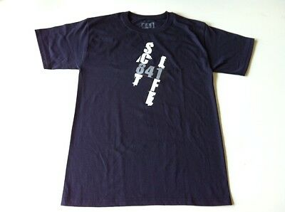 841 Scooter Tee Shirt - SC84LIFE, BLACK, ADULT SMALL