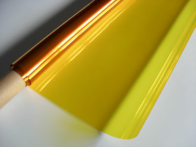 25ft X 4ft 101 YELLOW Roll Lighting Filter Colour Gel Theatre DJ Party Lights