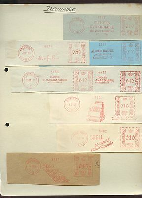 METER MARKS COLLECTION 250+ mostly 1930s USA Scandinavia Europe