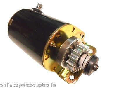 Heavy Duty Starter Motor replace Briggs and Stratton 693552 14 tooth fits mower