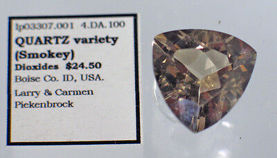 Quartz  variety (Smokey) (lp3307.001) Boise Co. ID, USA.