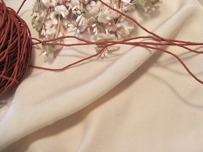 Rust Millinery Vine Cord Ribbon Flowers Doll Millinery Craft Trim Scrapbook *