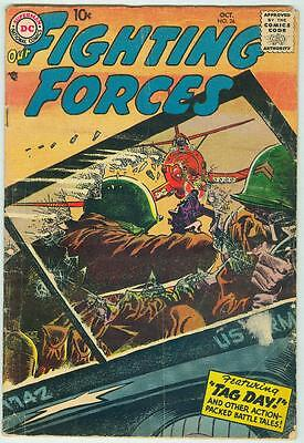 Our Fighting Forces #26 October 1957 G/VG
