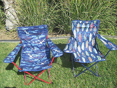 POTTERY BARN ~ FREEPORT CHAIR ~ CHOOSE SHARK or SURFBOARD ~ BEACH CHAIR ~ PBKIDS