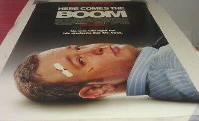 HERE COMES THE BOOM MOVIE POSTER 2 Sided ORIGINAL Version B 27x40 KEVIN JAMES