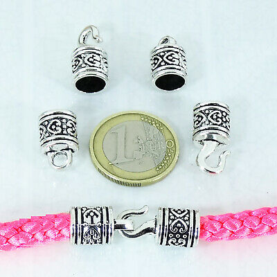 8 Set de Cierres 33x10mm  T301C  Tibetano Clasps Bracelet Closures Perline Beads