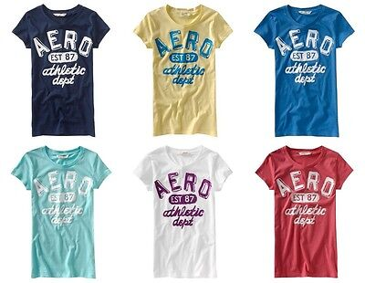 New Aeropostale Womans Lot Of 25 T-Shirts Size Extra Large Wholesale Nwt