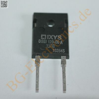 1 x DSEI120-06A Fast Recovery Epitaxial Diode IXYS TO-247 1pcs