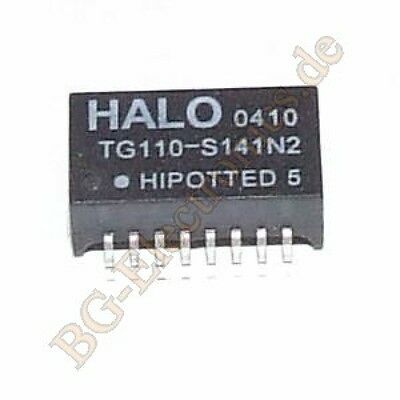 1 x TG110-S141N2 Transformer Misc, High Speed LAN HALO SO-16 1pcs