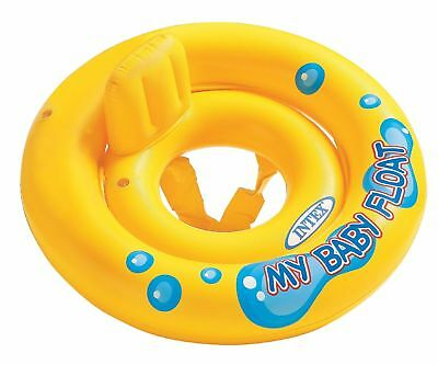 Intex My Baby Float Swimming Swim Ring Pool Infant Chair Lounge with Backrest