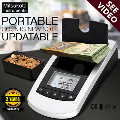 【20%OFF】Digital Note Money Counting Machine Coin Counter Sorter Jewelry