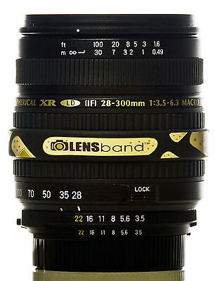 Lens Band STOP ZOOM CREEP for Sigma 18-200mm in BAND AID