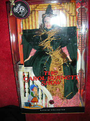 "Barbie, Collector Doll 50th Anniv.""The Carol Burnett Show"" ""Went With The Wind"""
