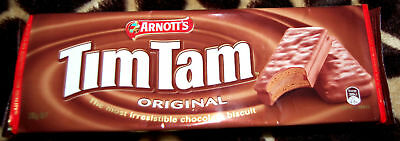 ARNOTTS ORIGINAL TIM TAM TAMS 200g PACK FAMOUS AUSSIE BISCUITS - THE TASTE OF OZ