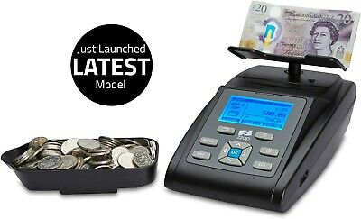 Money Scales Coin Counter Checker Banknote Note Cash Currency Auto Machine UK