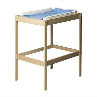 Baby Changing Unit Wooden Table Station Changer Bed And With / Without Mat New