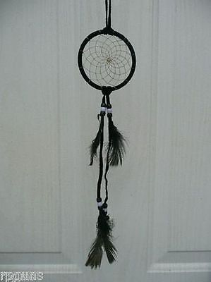 Dream Catcher YOU CHOOSE Size and Color  Pink Purple Blue Green Brown Black