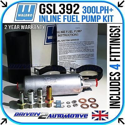 New Walbro Gsl392 300 Lph + Authentic External Fuel Injection Upgrade Pump New