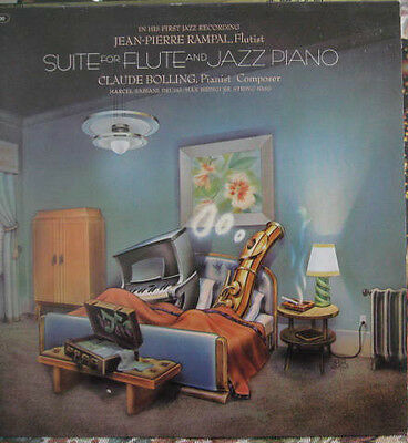 JEAN-PIERRE RAMPAL Claude Bolling SUITE FOR FLUTE + JAZZ PIANO CBS 73900