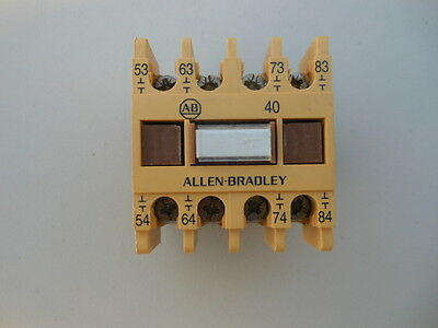 Allen Bradley 195-Fa40 Auxiliary Contact