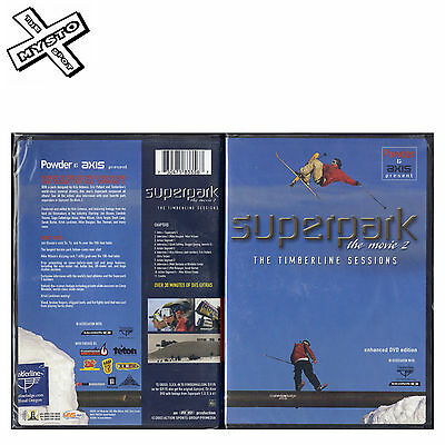 Superpark The Movie 2 The Timberline Sessions Dvd Skiing Film Ski Movie Powder