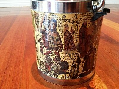 Vintage Collectable Ice Bucket Bar Ware Man Shed