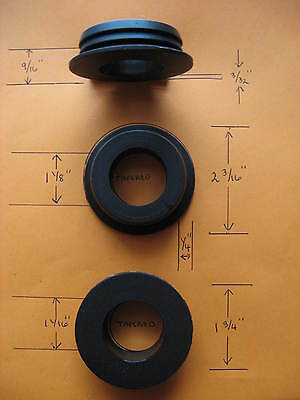 "Lot Of Ten 1 3/4""plastic Grommets For Computer Desk,wiring Panel Or Panel Drain"