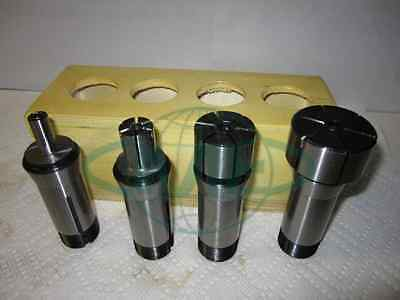 5C Expanding Collet Set, 4pcs/set,machinable to required sizes & shapes--NEW