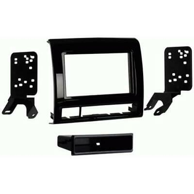 Metra 99-8235CHG High Gloss Single DIN Stereo Dash Kit for 2012-up Toyota Tacoma