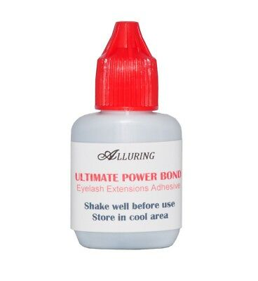 New ALLURING Ultimate Power Bond Glue Eyelash Extensions Adhesive dries instant