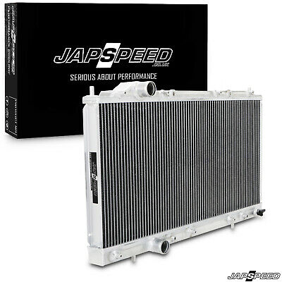 JAPSPEED 40mm ALUMINIUM RACE ENGINE RADIATOR RAD FOR MITSUBISHI FTO 1.8 2.0