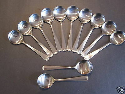 "USA SELLER  12  Old English/King Edwars Bouillon Spoons 6"" FREE Shipping US Only"