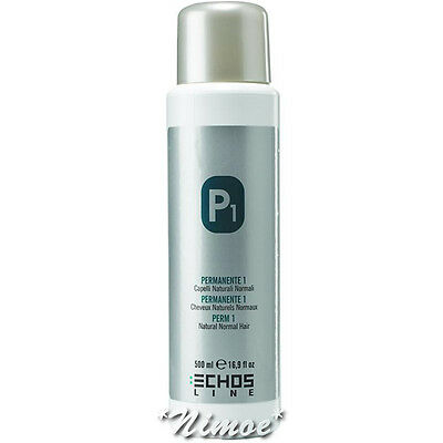P1 Perm 1 Natural Normal Hair Echos Line ® Permanente Naturali Normali 500ml