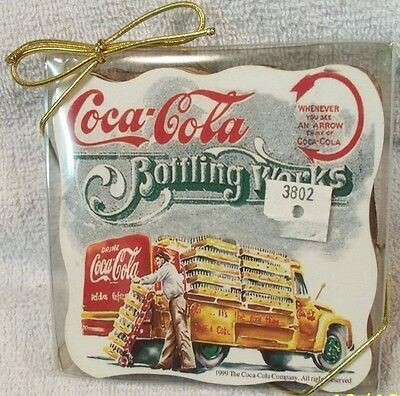 Set Of 4 Coca-Cola Coasters