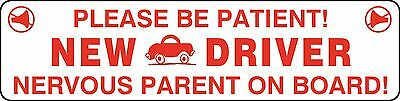 Student Teen New Driver Vehicle Car Caution Safety Magnetic Magnet Signs #9