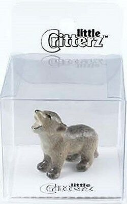 little Critterz 103102 - Totem Coyote in clear box with story card