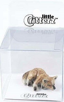 little Critterz Figurine - 103106 Totem Fox in clear box with story card
